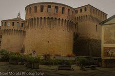 Romagna Italy, The medieval fortress of Riolo Terme in the village and Romagna region of northwestern Italy