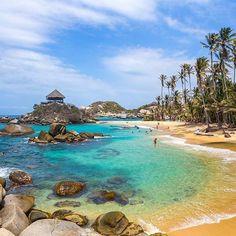 Friday is a great day to be in Cabo San Juan at Parque Tayrona in Colombia! Amazing pic by @fabianvs #beautifullatinamerica   El viernes es un excelente día para estar en Cabo San Juan en el Parque Tayrona, Colombia #latinoamericahermosa