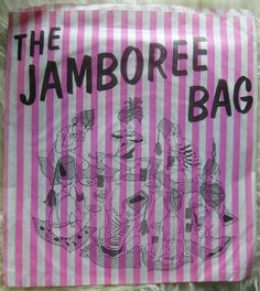 Jamboree bags - containing surprise sweets & toy