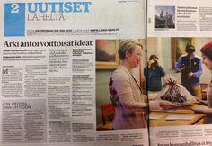 Tamora mukana rakentamassa uudenlaista tapaa tehdä julkisia hankintoja. Arkea helpottavat digitaaliset ratkaisut -kilpailu tuotti lähes 80 ratkaisuesitystä! Länsi-Savo 10.12.2013.