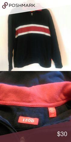 Men's Izod 1/4 zip pullover Comfy, reasonable offers considered. Izod Shirts