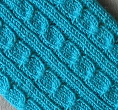 Stitches of Violet: More Fun Than Cables Sock Pattern