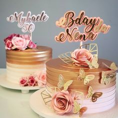19th Birthday, Birthday Cake, Bolos Naked Cake, Gateaux Cake, Fruit Salad Recipes, Its My Bday, Candy Table, Gorgeous Cakes, Sugar Rush