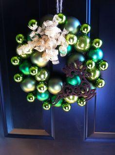 Green with Reindeer