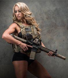 Blonde Gun Gal