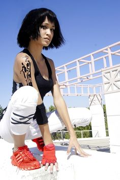 """Leap of Faith"": Cosplay as Faith from video game Mirror's Edge"