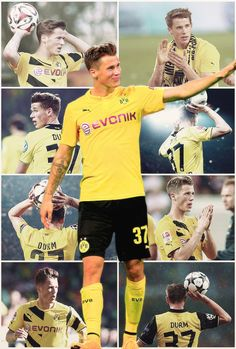 futbolfangirl:            Happy 23rd Birthday, Erik Durm!   ♥ ♥ ♥