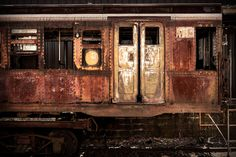 abandoned vintage trains cars - Google Search