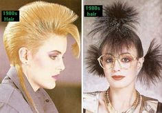 80s hair--the bigger, the better! http://www.liketotally80s.com/1980s-hairstyles.html