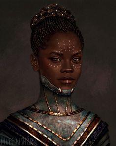 Black Panther Marvel, Shuri Black Panther, Black Panther Art, Black Girl Art, Black Women Art, Black Girl Magic, Afro Art, Maquillage Voodoo, Vinyl Pants
