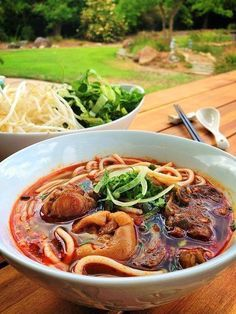 The Spices Of Life . . .: Bún Bò Huế (Hue Style Beef Noodle Soup)