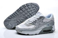 the latest 828ef 07322 Cheap Nike Air Max, Nike Free Run Online Shop Nike Air Max 90 White  Metallic Silver Wolf Grey Womens Shoes  Nike Free 2014 -