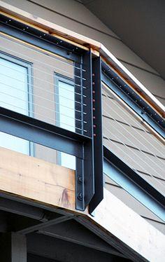 facia mounted deck cable railing