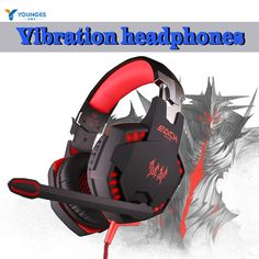 YG-MM888 3.5mm USB Gaming Headset Studio Headset Headset with Mic Stereo LED Light for Mobile Computer Portable Media