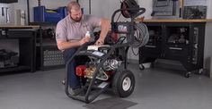 Learn how to winterize your pressure washer!