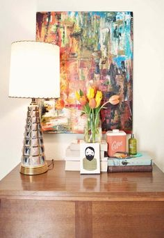 a beautiful mess blog elsie larson bedroom nightstand