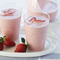 Banana Smoothie, Frozen Strawberries, Almond Butter Smoothie, Smoothie ...