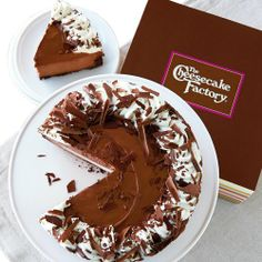 Harry David NEW The Cheesecake Factory® Chocolate Mousse Cheesecake - Divine Gifts &amp