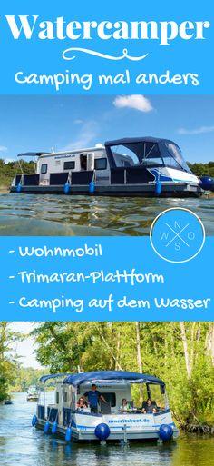Camping auf dem Wasser - ein außergewöhnliches und völlig neues Campingerlebnis. Mit dem Wohnmobil oder Wohnwagen einfach auf den See hinausschippern. Du willst wissen wie das geht? Dann einfach hier entlang, wir zeigen es dir.