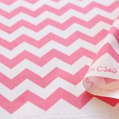 Small chevron Hot pink
