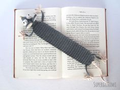 Amigurumi Crochet Bookmark                                                                                                                                                                                 Plus