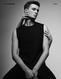 Raphael Suspéne by Paul Peter for Male Model Scene