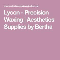 Lycon - Precision Waxing | Aesthetics Supplies by Bertha