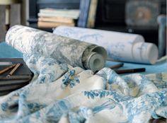 Chantilly - Casadeco Prestigious Textiles, Fabric Suppliers, Interior, Fabrics, Whipped Cream, Tejidos, Design Interiors, Interiors, Fabric
