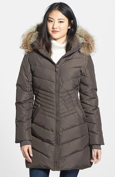 PAJAR 'Brooklyn' Genuine Coyote Fur Trim Down Parka available at #Nordstrom