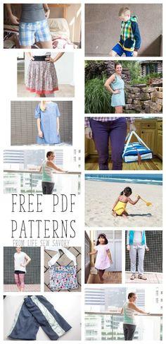 Free PDF Patterns