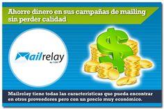 ¡Ahorra dinero en tus campañas de email marketing con Mailrelay! Pruebalo, la cuenta gratuita es para siempre y podrás enviar hasta 25.000 emails al mes con límite de hasta 5.000 suscriptores