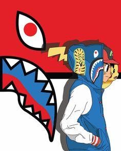 #bape #pokemon