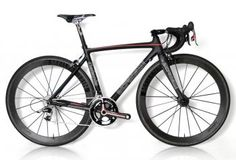 """Catania"" full carbon road bike  This image shows that bicycles can be used for any level of rider even the most pro of cyclists"