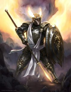 [Art] Lunios the half-celestial paladin : DnD - Fantasy Characters - [Art] Lunios the half-celestial paladin : DnD - Fantasy Armor, Medieval Fantasy, Dark Fantasy Art, Fantasy Male, Dungeons And Dragons Characters, Dnd Characters, Fantasy Characters, Dnd Paladin, Cleric