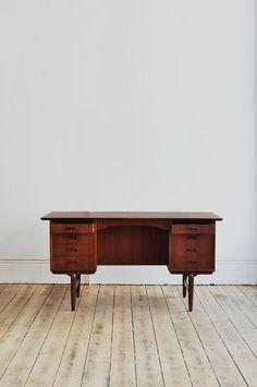 Danish Teak Desk | Forest London