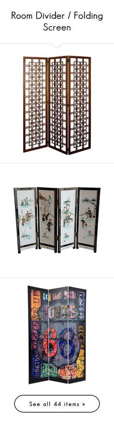 Oriental Furniture 6\u0027 Tall Geisha Screen ($689) ❤ liked on Polyvore