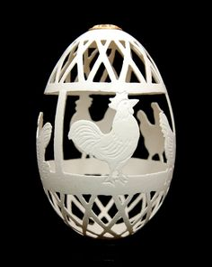 made from a goose-egg