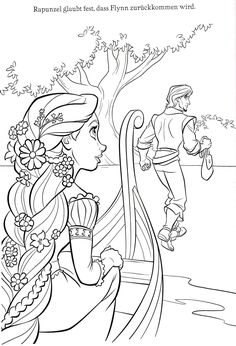 disney tangled coloring pages printable | 20 Tangled ...