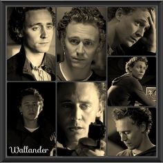 Hiddleston in Wallander. Not enough of him in the show in my humble opinion.