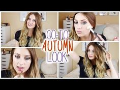Get Ready With Me: Go-To Autumn Look | vlogwithkendra - YouTube