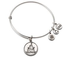 Disney Cinderella Castle Bangle Bracelet by Alex and Ani