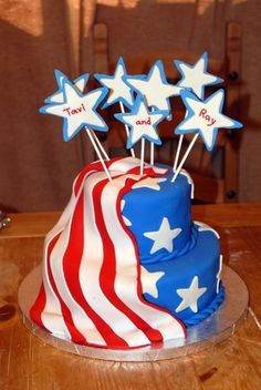 Another neat 4th cake