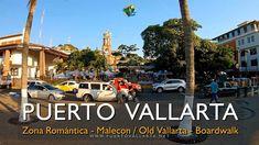 Paseo Zona Romantica al Malecón / Old Vallarta to the Boardwalk, Puerto ... Puerto Vallarta, Destin Beach, Beautiful Beaches, Night Club, Places To Visit, Tours, Tents, Restaurants, Walks