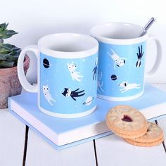 Cat Mug Dog Mug Gifts For Animal Lovers - Boxed Mug £9.99