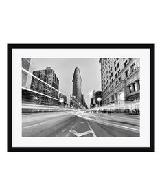 It doesn't get more classic than a black-and-white photograph. This print comes matted and framed, with your choice of a black, beige, or white wood frame.