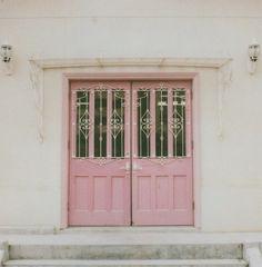 Pretty in pink door Pink Door, Tout Rose, Deco Rose, When One Door Closes, Best Decor, Cool Doors, Unique Doors, I Believe In Pink, Everything Pink