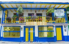 Salento quindio Camino Real, Ideas Para, Architecture, Homes, Decor, Rural House, Plantation Houses, Colorful Houses, Viajes