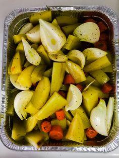 Contorno patate, carote, cipolle!