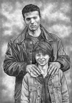 Winchesters by lupinemagic on deviantART