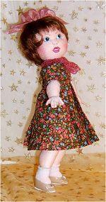 Little Bleuette in Cloth!   Online Class by Judi Ward!